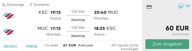 Z Košíc do Mníchova na víkend už za príjemných 60€ (termín aj na Silvestra)