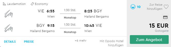 Jesenný výlet do Milána s odletom z Viedne už od perfektných 15€