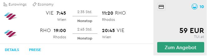 Last Minute letenka na neskoršiu letnú dovolenku na ostrove Rodos za výborných 59€ (odlet z Viedne)