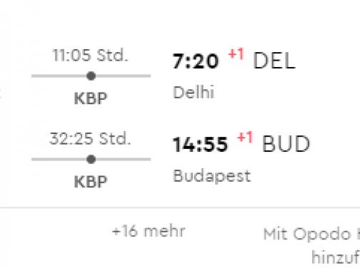 INDIA: Dillí s odletom z Budapešti už od parádnych 255€ (2x 23kg batožina v cene!)