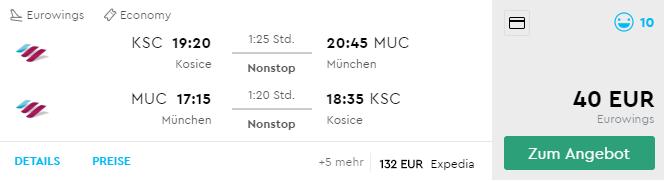Z Košíc do Mníchova na víkend bez potreby dovolenky už za výborných 40€ (termín aj na Silvestra)