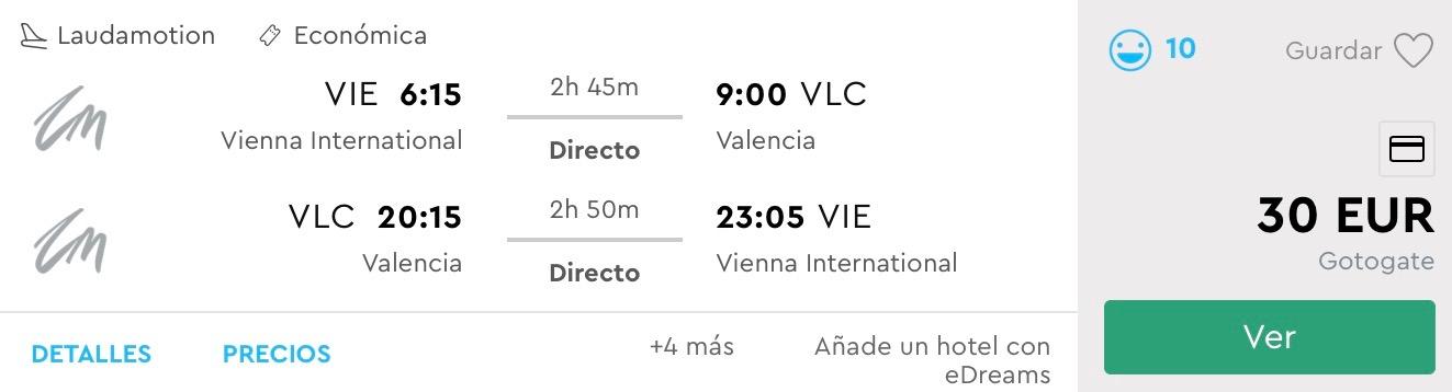 Na Paellu do Valencie s odletom z Viedne už za výborných 30€