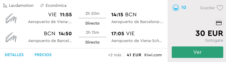 Jesenná Barcelona s odletom z Viedne od parádnych 30€
