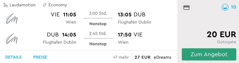 Írsky Dublin v jesennom období s odletom z Viedne za skvelých 20€
