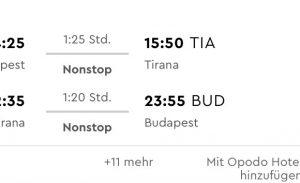 Albánsko: hlavné mesto Tirana s odletom z Budapešti už od výborných 19€
