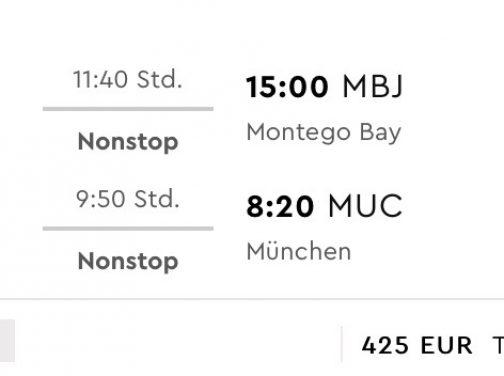 JAMAJKA v TOP sezóne: priame lety z Mníchova do Montego Bay od fantastických 300€ (termíny aj na vianoce!)