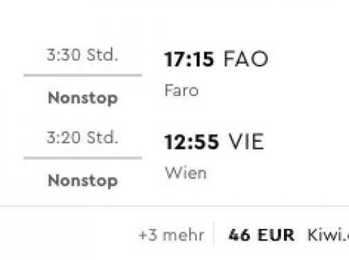 Portugalské Faro s odletom z Viedne v zimných mesiacoch už od parádnych 35€
