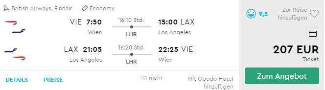LOS ANGELES: do slnečnej Kalifornie s letenkami z Viedne už od fantastických 207€