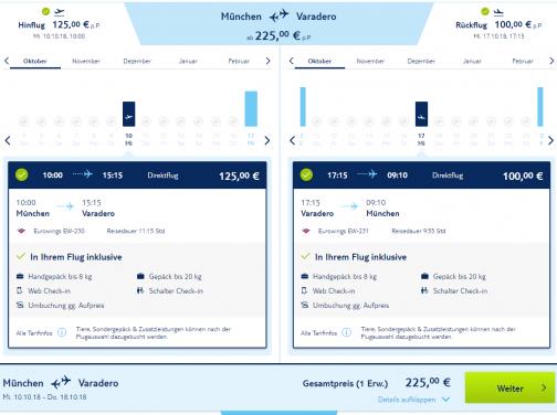 Kuba: Last Minute letenka (priamy let) z Mníchova do Varadera za fantastických 225€