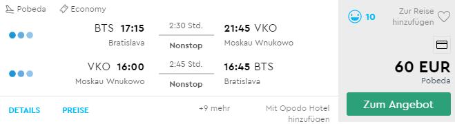MOSKVA: zažite pravú ruskú zimu s letenkami z Bratislavy už za výborných 60€