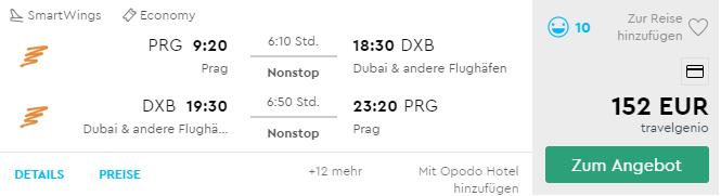 DUBAJ bez prestupu z Prahy už od neuveriteľných 152€ (batožina v cene!)