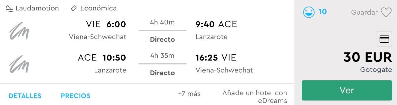 LANZAROTE: na Kanárske ostrovy s odletom z Viedne už od skvelých 30€