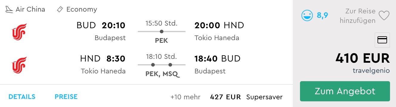Japonské TOKIO s odletom z Budapešti už od parádnych 410€ (batožina v cene!)