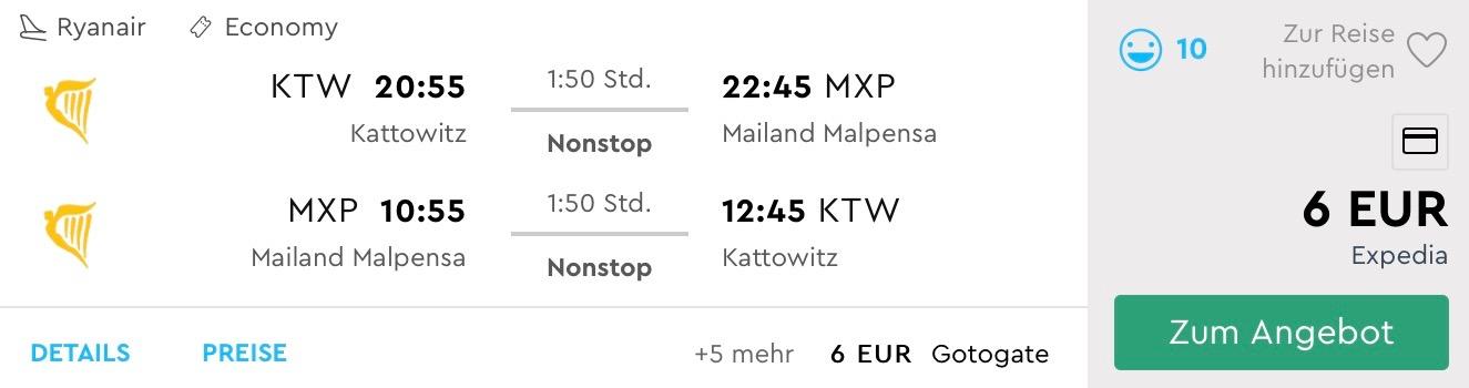MILÁNO na predĺžený víkend s letenkami z Katowíc od úžasných 6€
