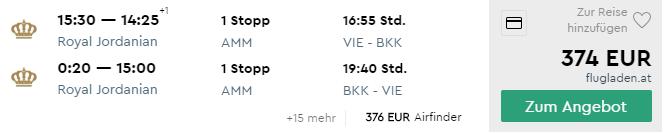 Thajsko: letenky do Bangkoku z Viedne za veľmi príjemných 374€ (batožina v cene!)