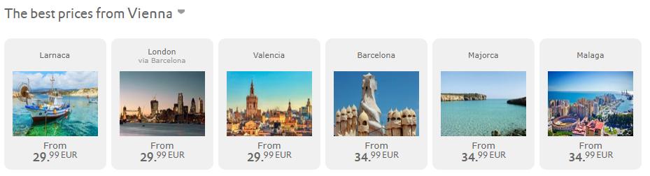 Veľký výpredaj Vueling: 1.000.000 leteniek už od 19,99€ jednosmerne