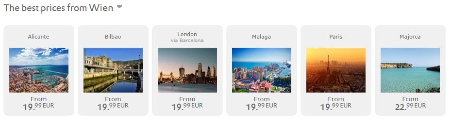 BLACK (yellow) FRIDAY VUELING: Paríž, Bilbao, či Malaga už za 40€ spiatočne (odlet z Viedne)