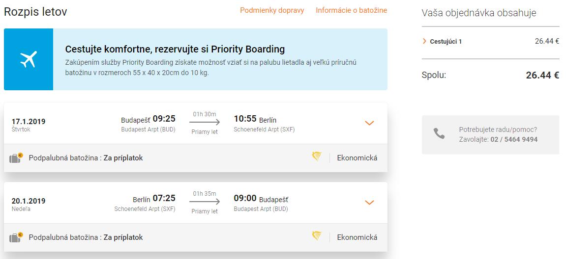 Na predĺžený víkend do Berlína s odletom z Budapešti už od výborných 26€ (veľa termínov)
