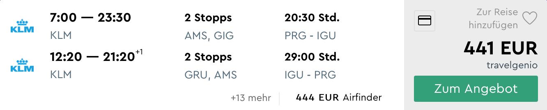 Brazília: Vodopády IGUAZU s letenkami z Prahy od veľmi dobrých 441€ (aj na Veľkú noc a počas májových sviatkov!)