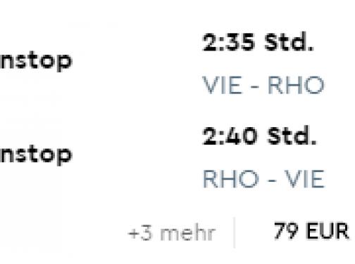 First Minute letná dovolenka v Grécku: 7 nocí v 4* hoteli na Rodose + letenka z Viedne už za skvelých 397€ (ak idú 2 osoby)