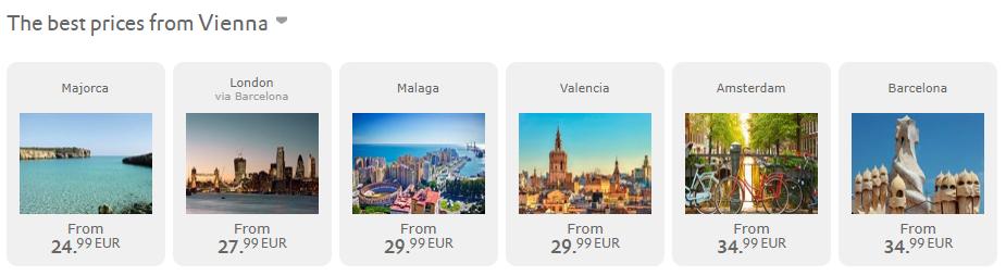 ZIMNÝ VÝPREDAJ VUELING: napríklad Mallorca z Viedne už za 45€ spiatočne