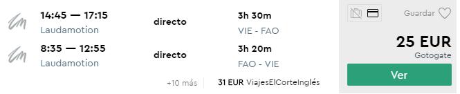 Portugalsko: FARO v regióne ALGARVE už od fantastických 25€ (odlet z Viedne)