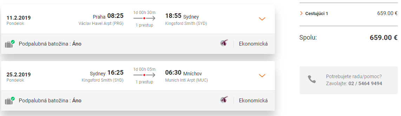 Austrália: do SYDNEY so špičkovými Qatar Airways už za veľmi dobrých 659€ (odlet z Prahy, prílet do Mníchova, 30kg batožina v cene!)