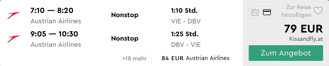 DUBROVNIK počas celého LETA s odletom z Viedne za skvelých 79€ (množstvo termínov)