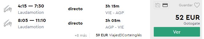 Andalúzia: MALAGA v letných termínoch od skvelých 52€ (odlet z Viedne)