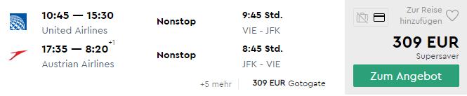 Priame lety do NEW YORKU v jarných termínoch za parádnych 309€ (odlet z Viedne)