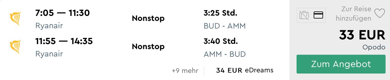 Jordánsko: AMMÁN s odletom z Budapešti za výborných 33€