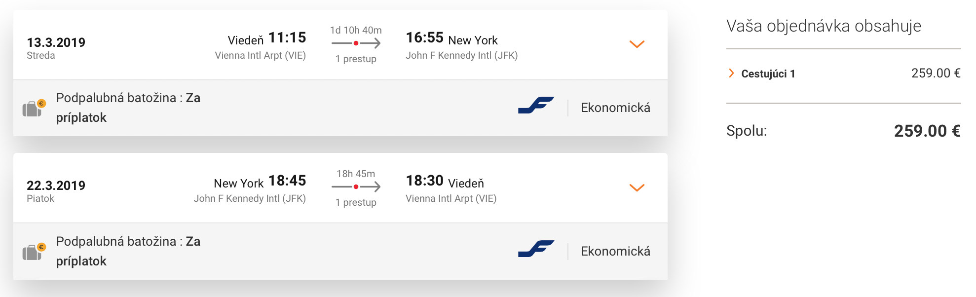 NEW YORK s odletom z Viedne za skvelých 259€