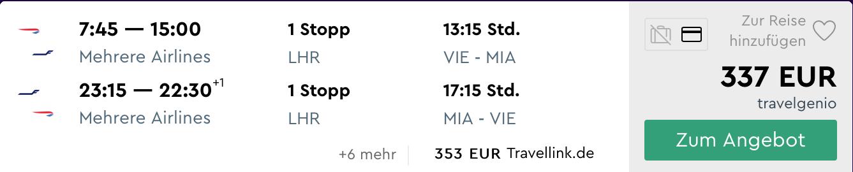 Letná dovolenka na MIAMI: letenky z Viedne od parádnych 337€