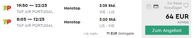 LISABON s odletom z Viedne za výborných 64€ (termíny aj na vianoce)