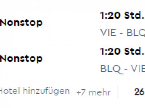 Predĺžený víkend v BOLOGNI za parádnych 85€ (letenka z Viedne + hotel s raňajkami na 2 noci)