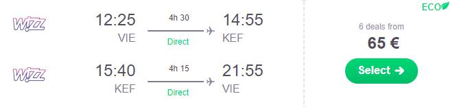 ISLAND v májových termínoch s odletom z Viedne za veľmi dobrých 65€ (členovia WDC za ešte lepších 45€)