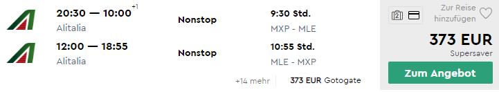 Priame lety na MALEDIVY z Milána za fantastických 373€ (batožina v cene!)