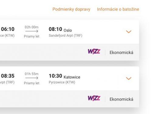 OSLO aj na víkend s odletom z Katowíc od výborných 30€