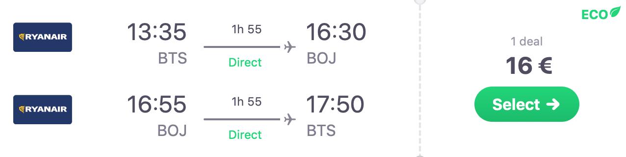 Jarný BURGAS s letenkami z Bratislavy od skvelých 16€ (termín aj na Veľkú noc!)