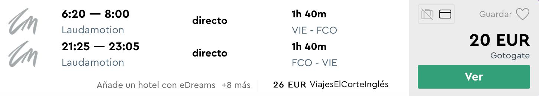 Májový RÍM (aj na otočku, či 1 noc) za parádnych 20€ (odlet z Viedne)