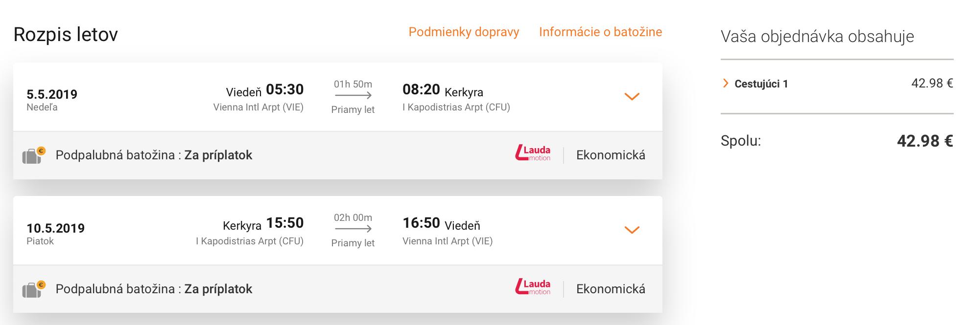 Grécke ostrovy KORFU, RODOS, KRÉTA a MYKONOS s letenkami z Viedne od veľmi dobrých 43€