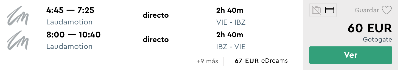 IBIZA počas letných prázdnin za veľmi dobrých 60€ (odlet z Viedne)