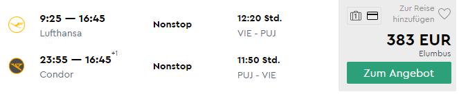 Last Minute dovolenka v Karibiku: priamy let z Viedne do Punta Cana + ubytovanie na 8 nocí za skvelých 697€ (ak cestujú 2 osoby)