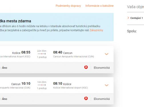 CANCUN s odletom z Košíc už za 499€ (batožina v cene!)