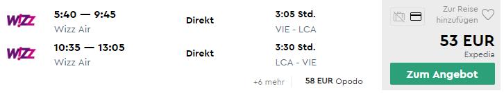 LARNACA: na skoršiu letnú dovolenku s letenkami z Viedne za veľmi dobrých 53€