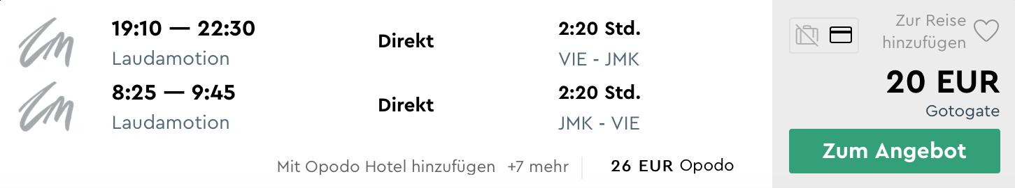 Aprílový MYKONOS: letenka z Viedne + ubytovanie na 3 noci za parádnych 100€ (ak idú 2 osoby)