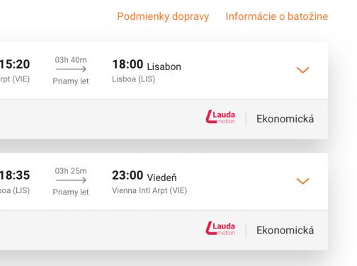 Z Viedne do LISABONU za veľmi dobrých 74€