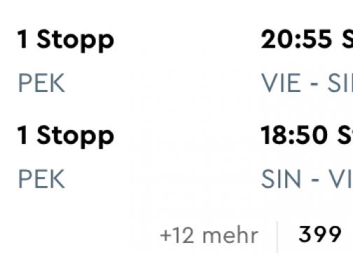 SINGAPUR z Viedne a batožinou v cene za výborných 399€
