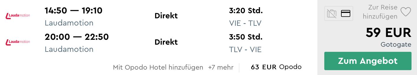 Izrael: TEL AVIV s odletom z Viedne za parádnych 59€