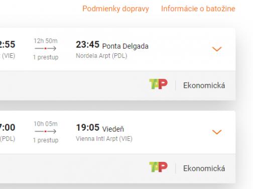 AZORSKÉ OSTROVY s odletom z Viedne za veľmi dobrých 169€